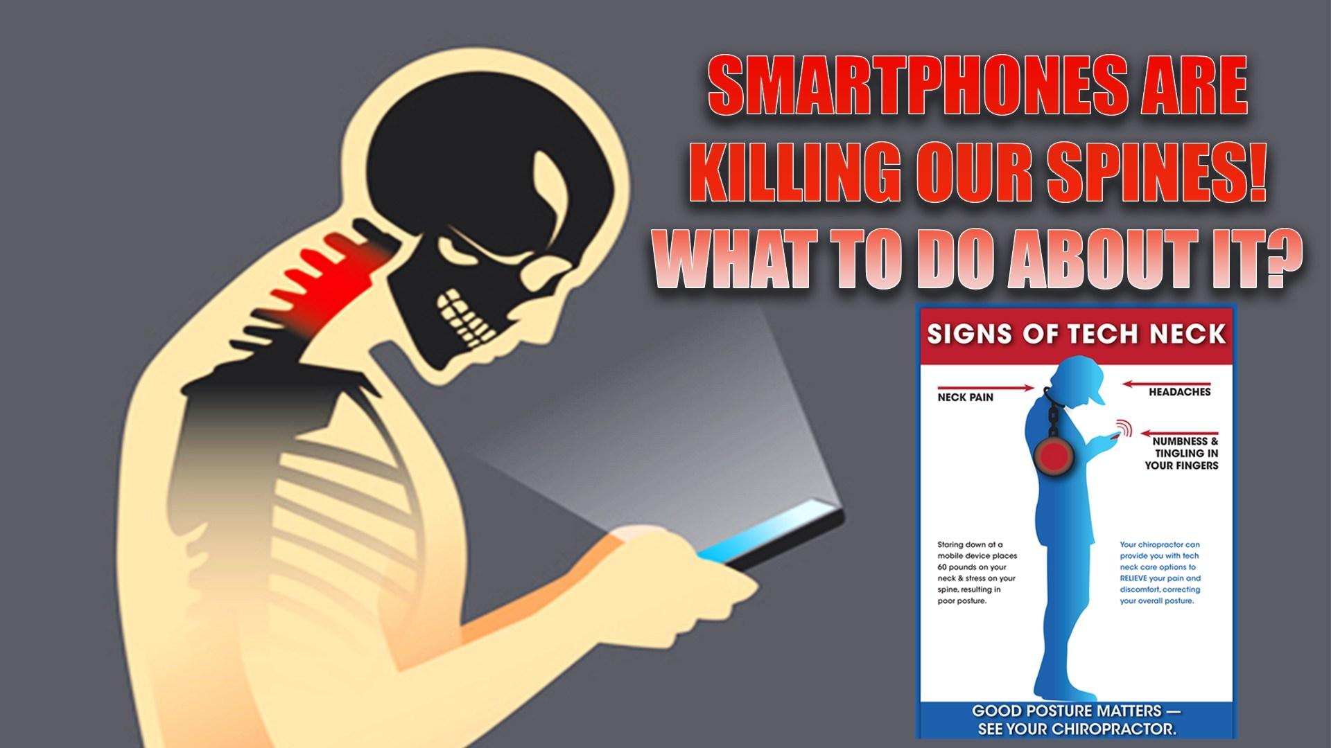 nyeri leher akibat penggunaan ponsel