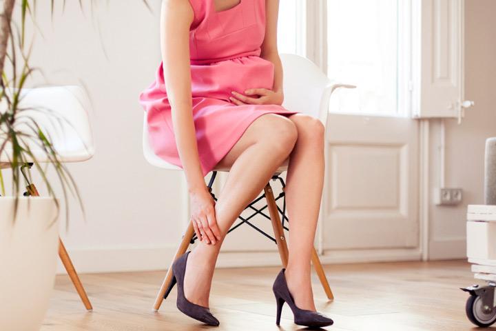 Nyeri punggung pada ibu hamil karena high heels