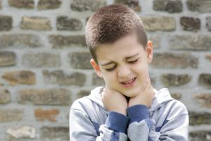 Sakit leher pada anak-anak