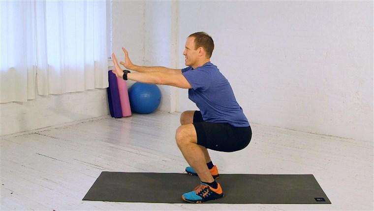 nyeri lutut akibat squat