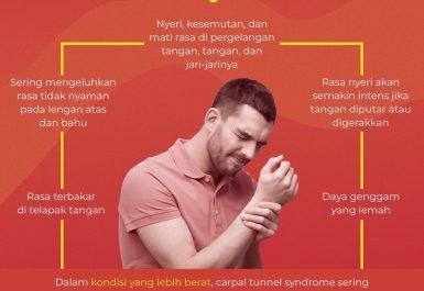 gejala carpal tunnel syndrome