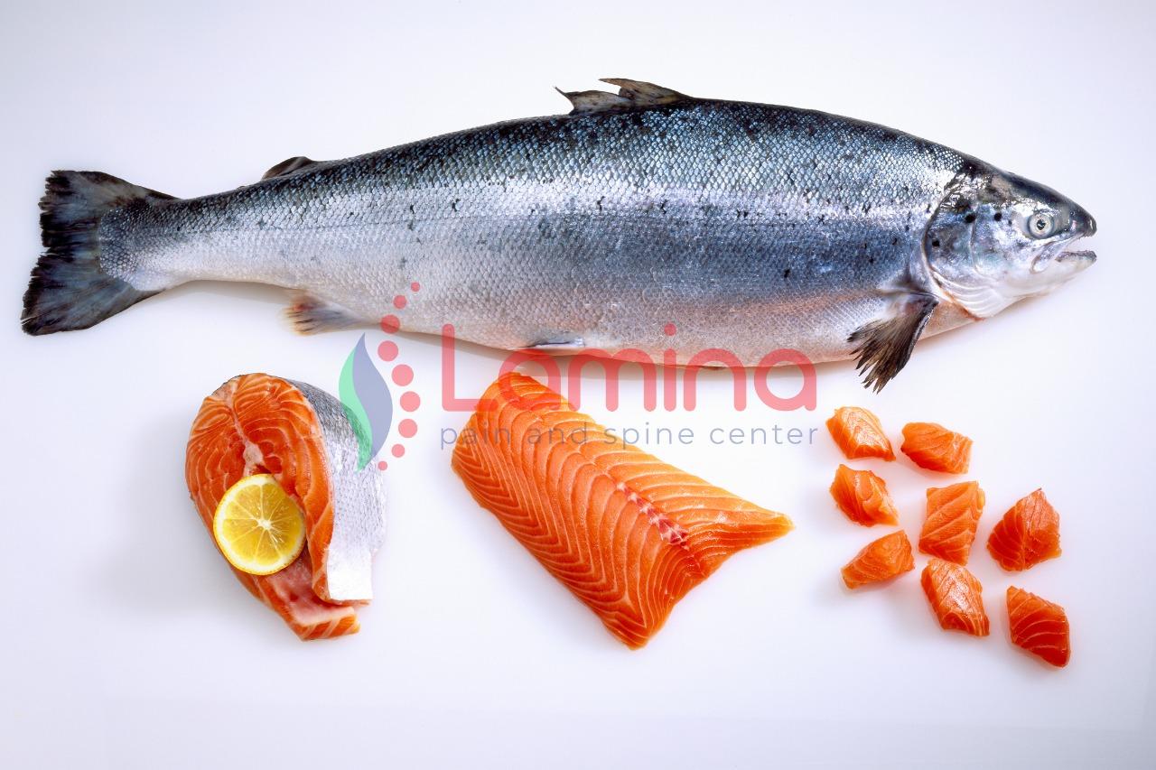 Salmon jenis makanan yang mengandung glukosamin tinggi