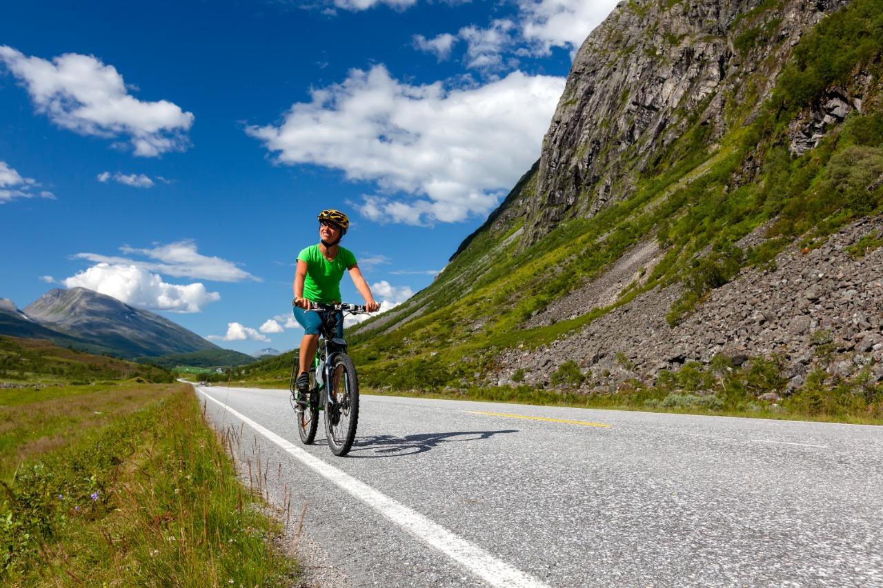 Sakit pinggang saat bersepeda