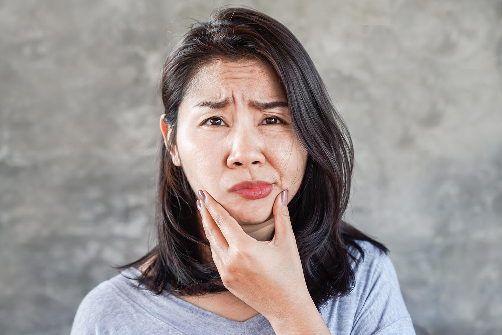 Kelumpuhan wajah melorot atau bell's palsy